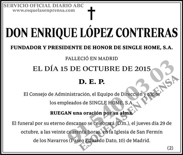 Enrique López Contreras